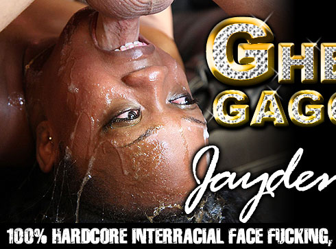 Jayden Starr Destroyed On Ghetto Gaggers